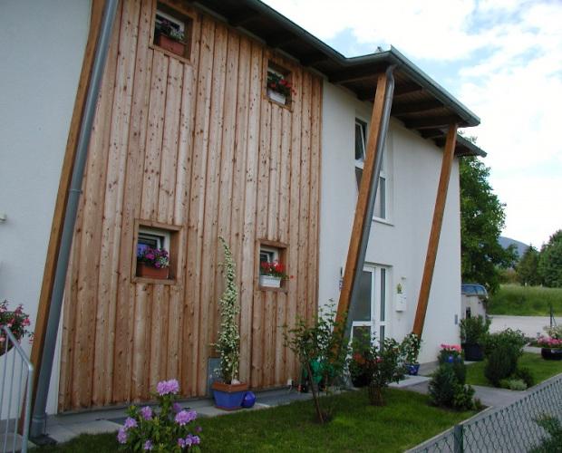 Gyalult deszka vörösfenyőből Ausztriában