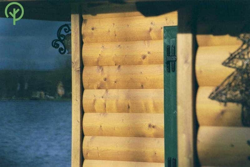 faház burkolat lucfenyőből Ausztriában