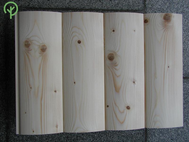 faház burkolat lucfenyőből minta