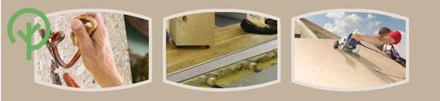 MFP lap tetőszigetelésre, darabolásra, díszítőanyag