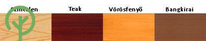 Remmers faanyagvédelemi színek - teraszburkolathoz